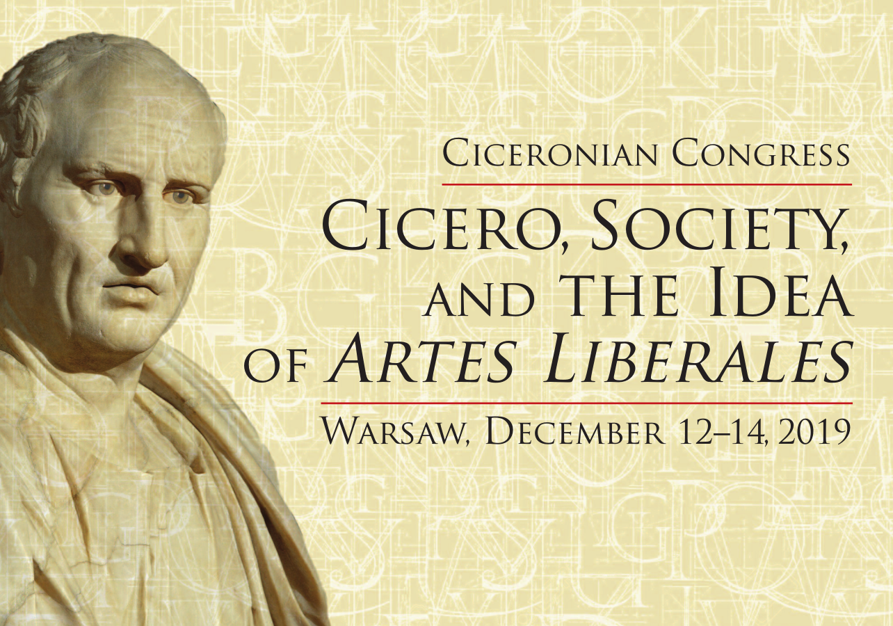 Cicero, Society, and the Idea of artes liberales