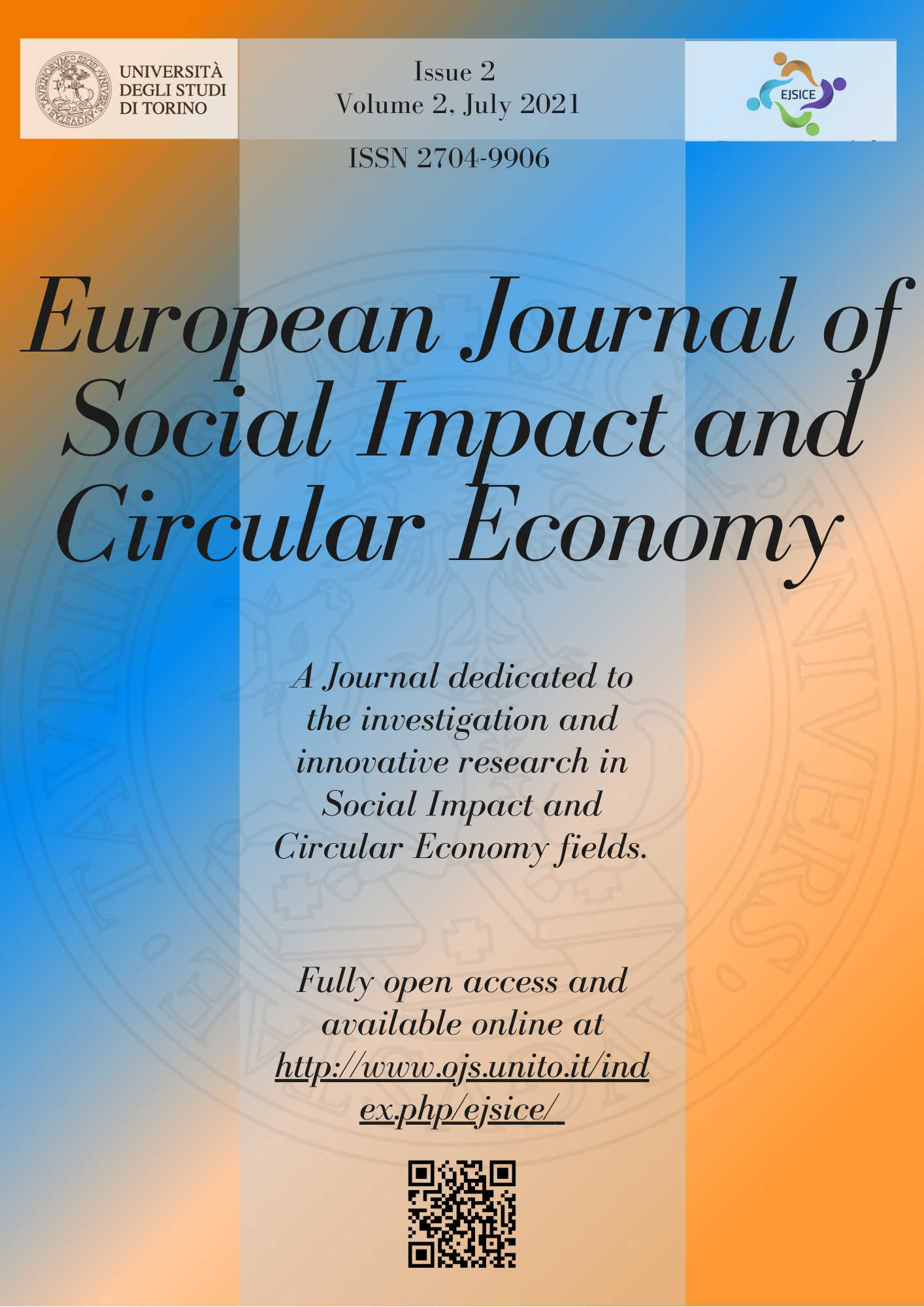 European Journal of Social Impact and Circular Economy Volume 2 Issue 2 Year 2021