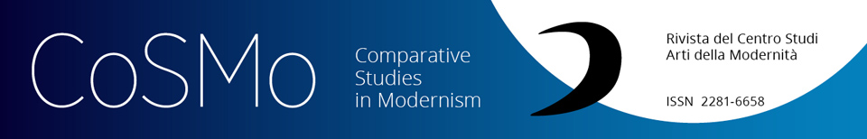 COSMO | Comparative Studies in Modernism